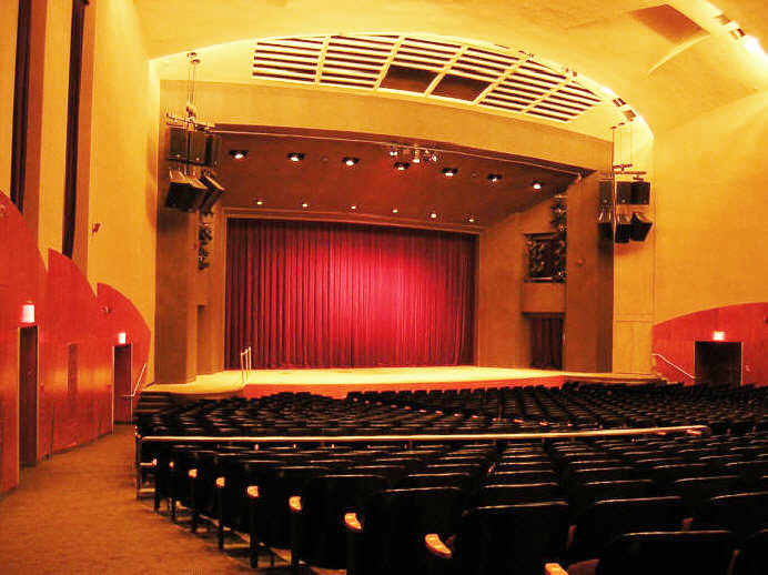 Brooklyn College's 2,380 seat theater